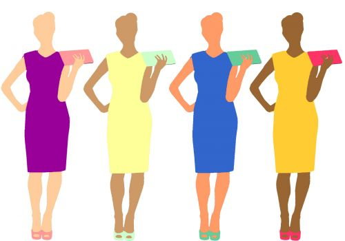 Color Women With Purses