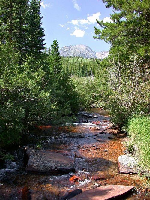 colorado stream colorado mountains