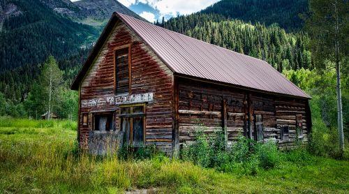 colorado cabin log