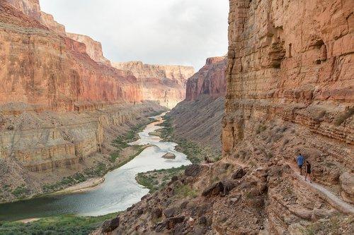 colorado river  grand canyon  landscape