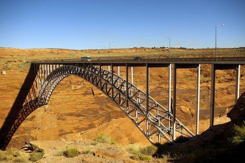 colorado river bridge at page  steel  arch
