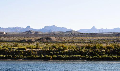Colorado River In Nevada