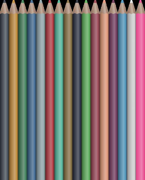 colored pencil pencil crayon