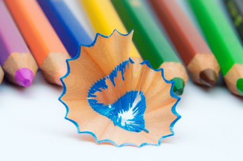 colored pencils colorful different colored crayons