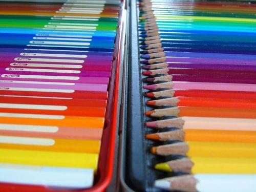 colored pencils pens watercolor pencils