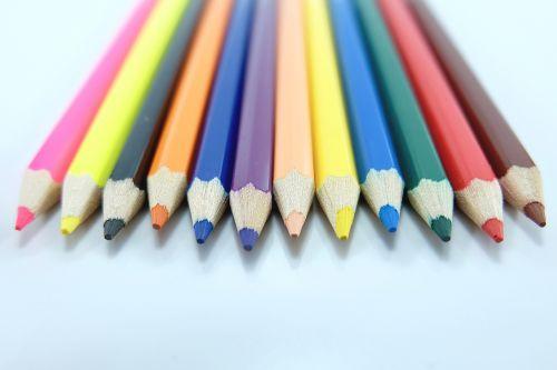 colored pencils colorful pencil