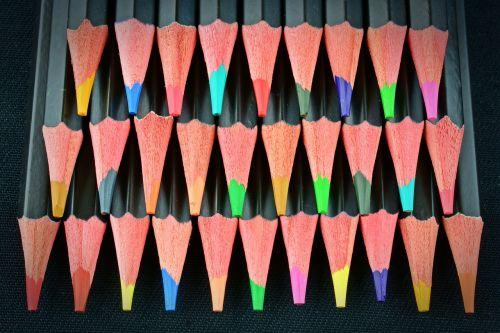 colored pencils pens color