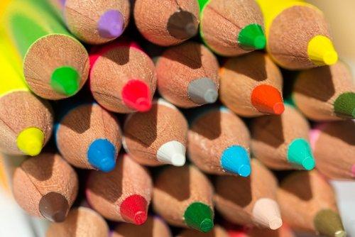 colored pencils  diversity  tolerance