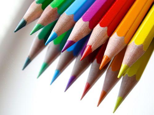 colored pencils colour pencils mirroring