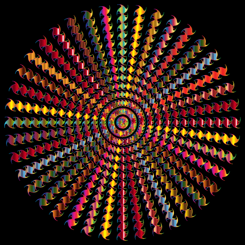 colorful prismatic chromatic