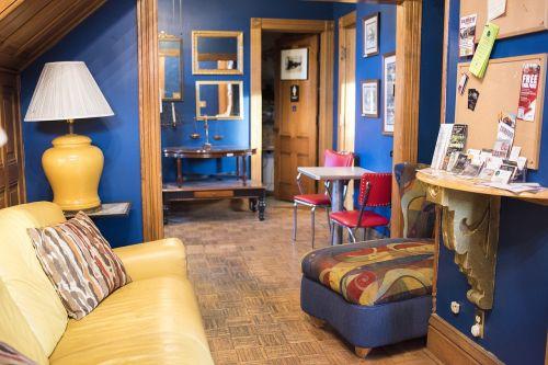colorful interior furniture