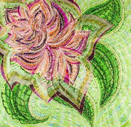 colorful design acrylic