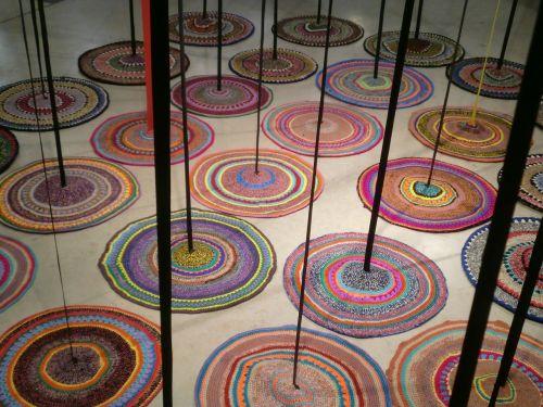 colorful carpet art