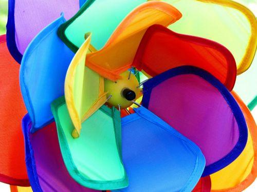 colorful color windspiel