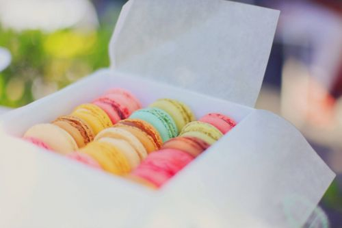 colorful dessert food