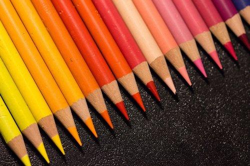 colorful  pens  paint