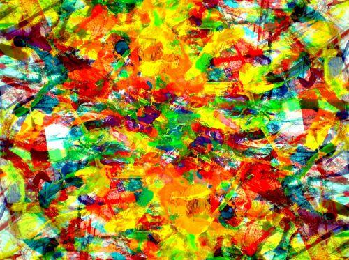 spalvinga, abstraktus, fonas, spalvingas abstraktus fonas