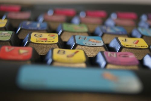 Colorful Keyboard