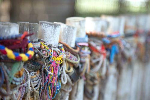 colorful ribbon commemorate cambodia