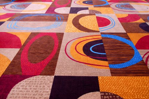 Colorful Rug Background