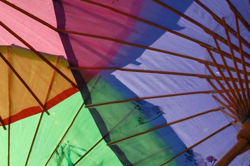 colorful umbrellas bamboo umbrellas asian traditional umbrellas
