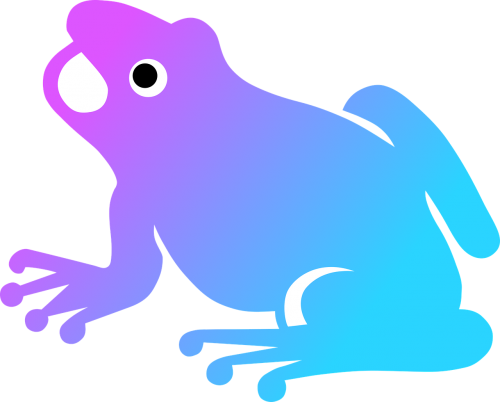 colorize frog nature