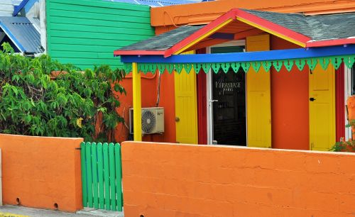 colors colorful house houses