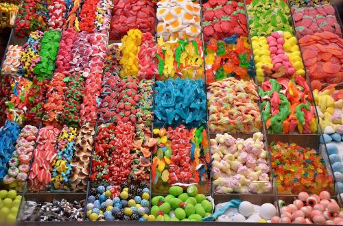 colors candy confectionery