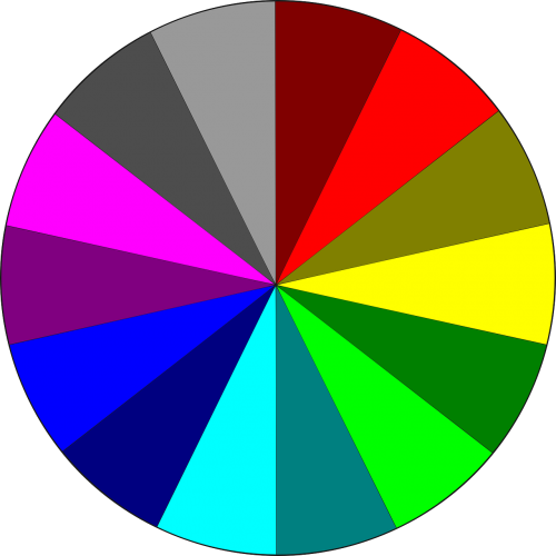 colors circle rgb