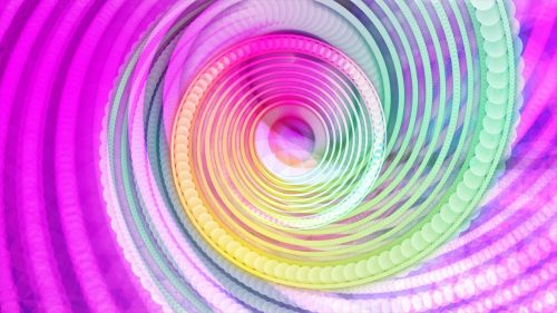 colors circles abstract