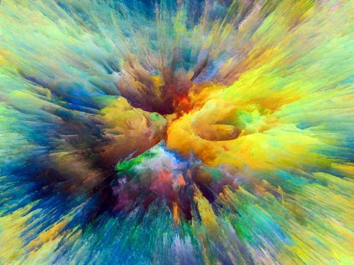 colors abstract multi colored