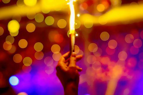 colors bokeh light