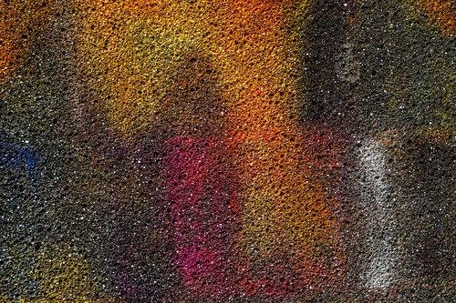 colors  exploding  paint