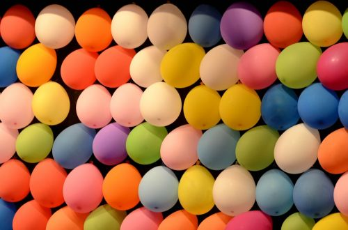 colors balloons festival