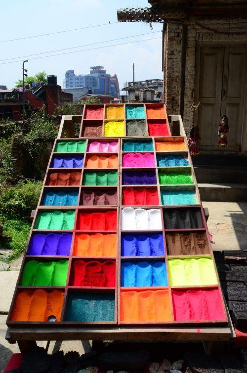 colors pigments festival