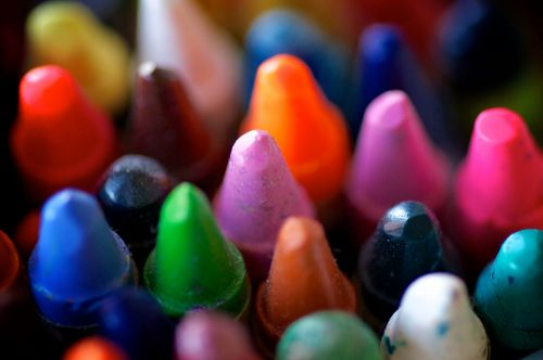 Colors Of Many Crayons