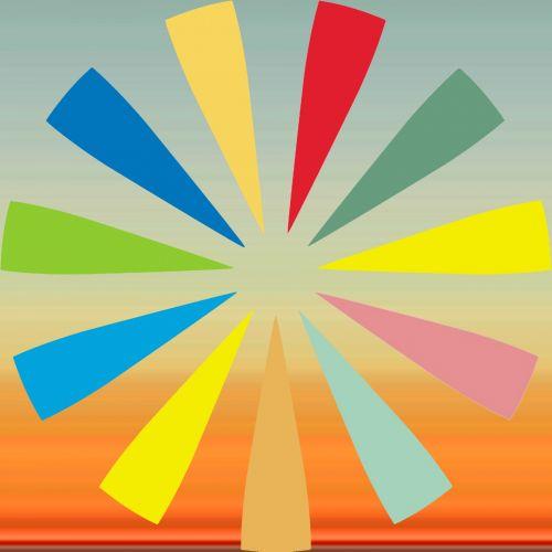 Colors Sunburst