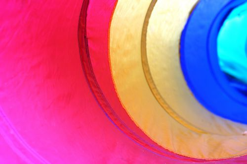 color tunnel pipe
