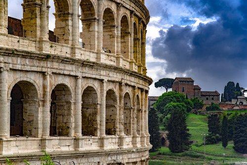 colosseum  monument  antique