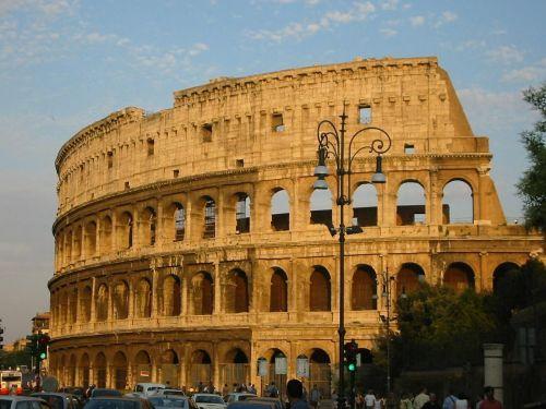 colosseum rome roman