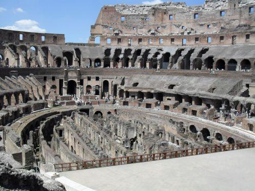 colosseum rome roman coliseum