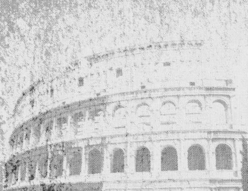 Colosseum Black White