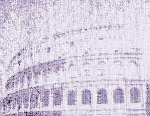 Colosseum Blue Purple