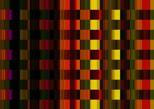 Colour Diffuse Block Pattern