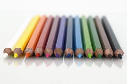 colour pencils paint colored pencils