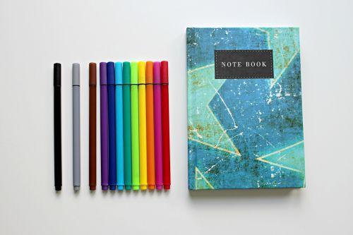 colour pencils pens issue