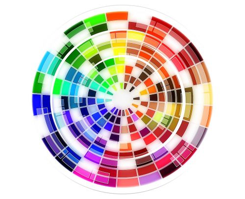 colour wheel pattern color wheel
