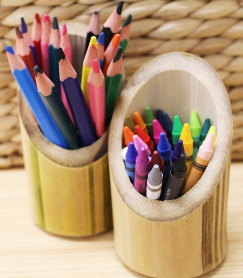 coloured pencils  crayons  school
