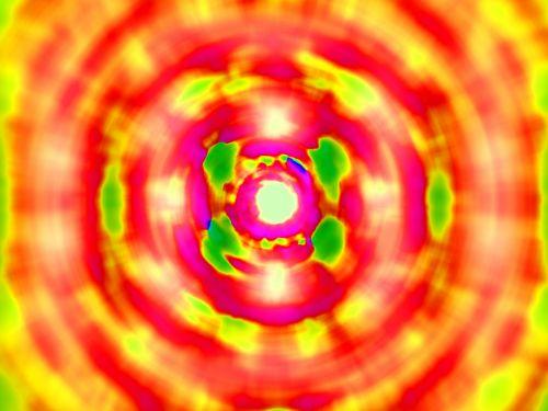 fonas, modelis, blur, priartinti, spalvinga, tapetai, geltona, raudona, rožinis, žalias, spalvotas radialinis blur modelis
