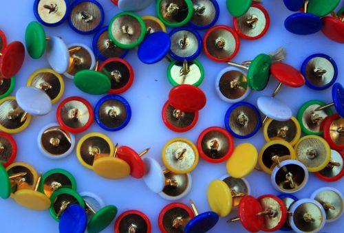Coloured Thumb Tacks